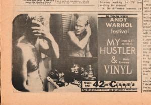 VV Oct 5, 1967 Warhol